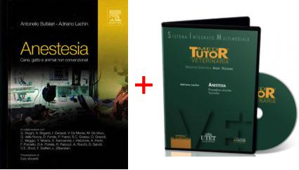 ANESTESIA in PROMOZIONE: TESTO Anestesia Cane Gatto e Animali non Convenzionali + DVD Anestesia Procedure Cliniche Tecniche