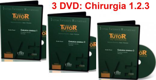 CHIRURGIA GENERALE in PROMOZIONE: 3 DVD ( Chirurgia 1 + Chirurgia 2 + Chirurgia 3 )