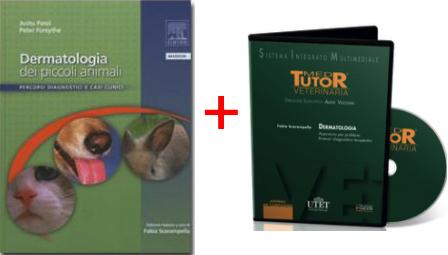 DERMATOLOGIA in PROMOZIONE: TESTO Dermatologia dei piccoli animali + DVD Dermatologia