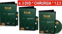 CHIRURGIA GENERALE in PROMOZIONE: 3 DVD ( Chirurgia 1 + 2 + 3 )