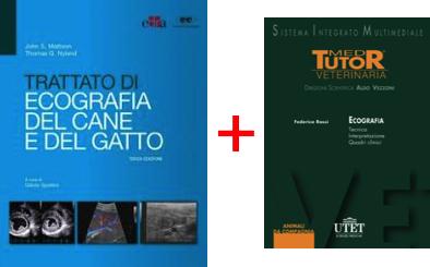 ECOGRAFIA in PROMOZIONE: Testo ( Nyland Mattoon ) Trattato di Ecografia Cane e Gatto + DVD Ecografia Tecnica Interpretazione Quadri Clinici