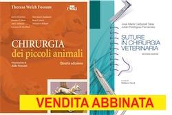 Fossum - Chirurgia dei piccoli animali IV Ediz. + Carbonell - Suture in chirurgia veterinaria