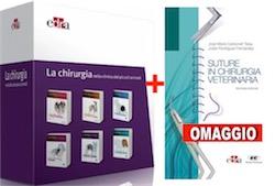 La Chirurgia nella clinica dei piccoli animali ( Cofanetto 6 volumi ) + OMAGGIO