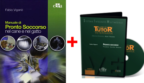 PRONTO SOCCORSO in PROMOZIONE: TESTO MANUALE DI PRONTO SOCCORSO CANE E GATTO + DVD PRONTO SOCCORSO
