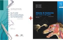 PROMOZIONE: Suture in Chirurgia Veterinaria + Atlante Anatomia Cane e Gatto