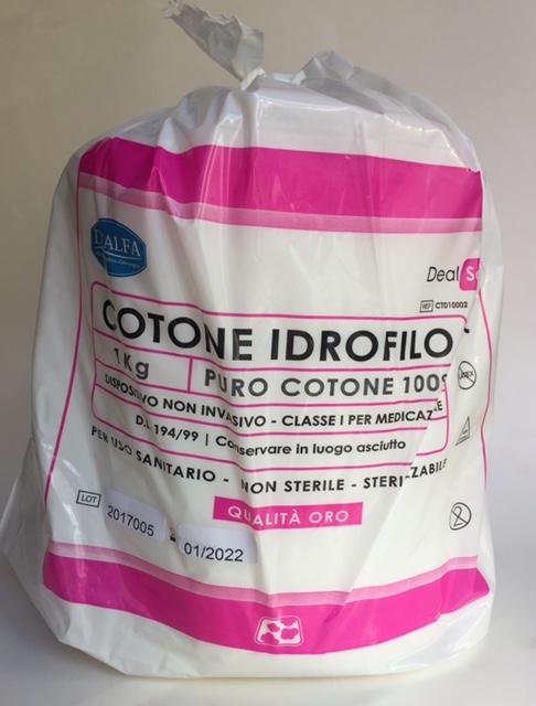 Cotone Idrofilo ORO 1 kg. - ( 10 pezzi ) - DEALFA