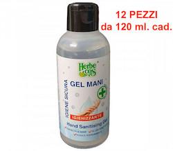 Gel Mani Igienizzante - 120 ml.  ( n. 12 pezzi )