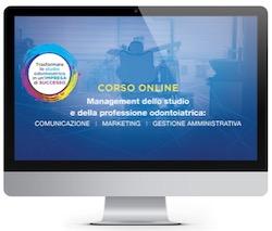 Video Online - Management dello studio e della professione odontoiatrica ( Durata 16 ore )