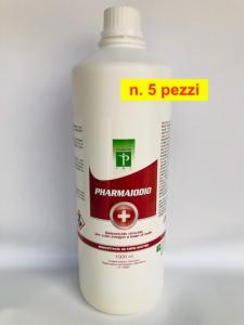 Pharmaiodio - Battericida, Virucida per cute integra ( 5 pezzi )